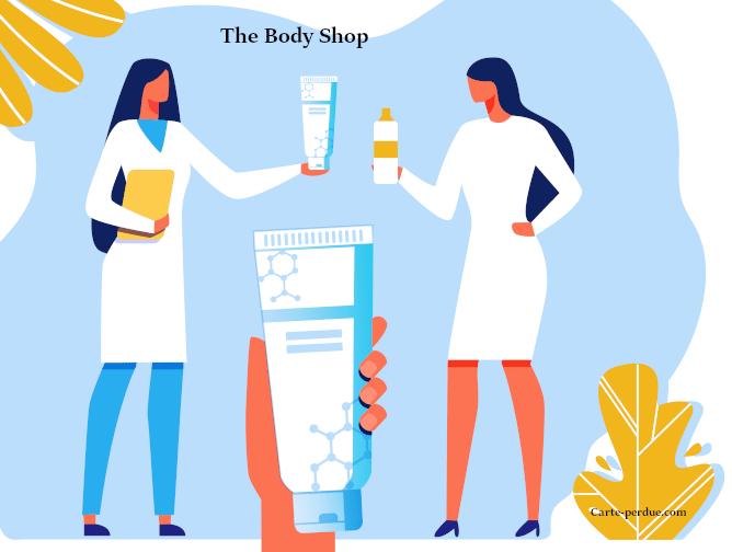 Body Shop Carte de fidélité perdue, que faire ?