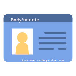 Body 'minute Carte abonnement perdue