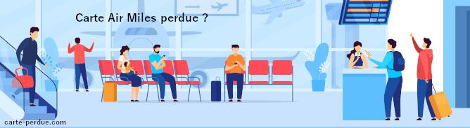Carte Air Miles Perdue, que pouvez-vous faire ?