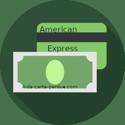Carte American Express perdue ou volée