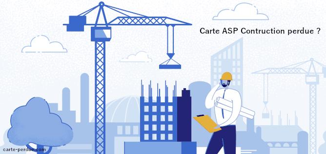 Carte Asp Construction Perdue, que faire ?