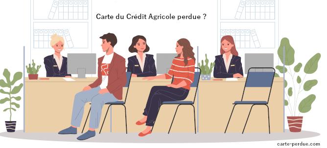 Carte Bancaire du Crédit Agricole Perdue ?