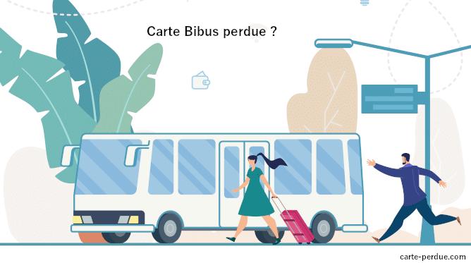 Carte Bibus Perdue, que puis-je faire ?