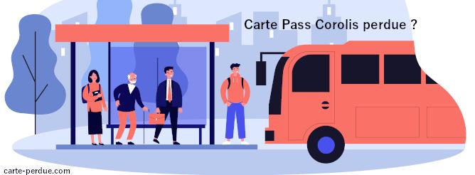 Carte Pass Corolis perdue, que faire ?