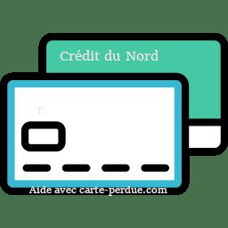 Carte Crédit du Nord perdue ou volée
