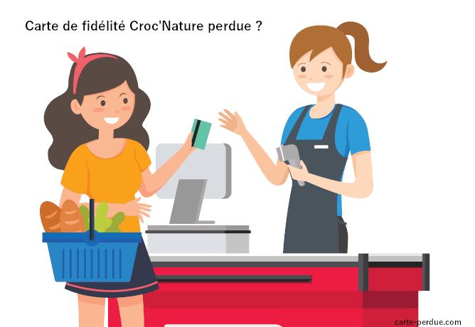 Carte de fidélité Croc nature Perdue, que faire ?