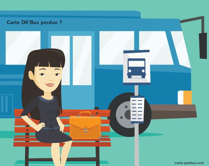 Carte Dk'Bus Perdue, comment faire ?