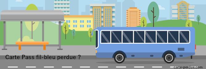 Carte Pass Fil Bleu Perdue