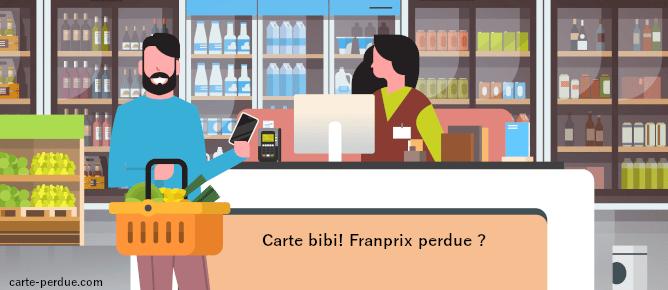 Carte Franprix Perdue, comment procéder ?