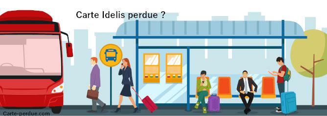 Carte Idelis Perdue, comment procéder ?