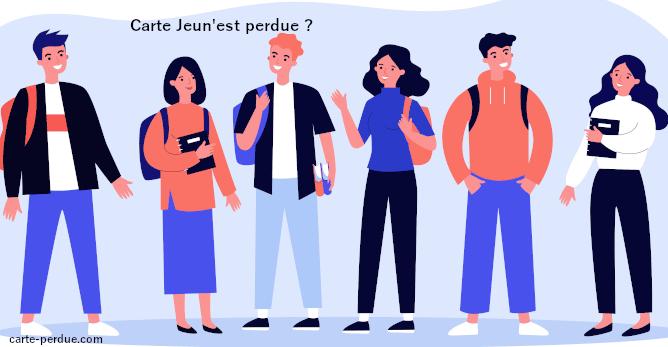 Carte Jeun'est Perdue, que faire ?