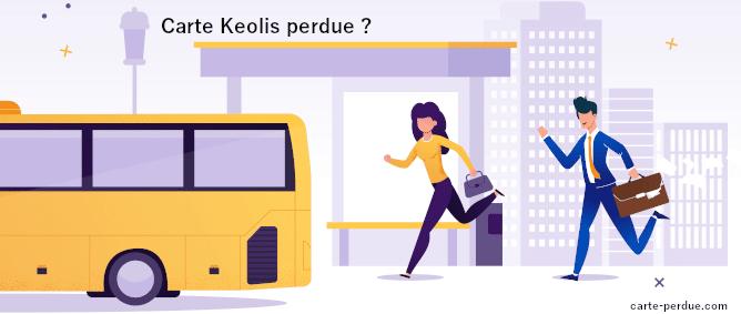 Carte Keolis Perdue, que faire ?