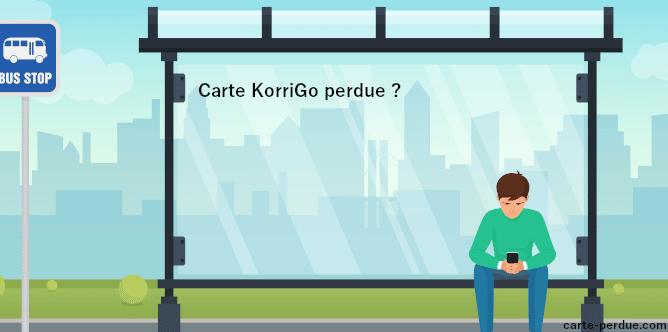 Carte Korrigo Perdue, que dois-je faire ?