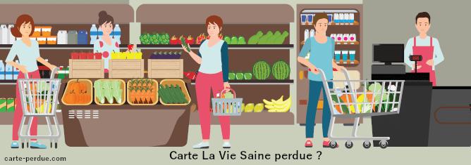 Carte de fidélité La Vie Saine Perdue, que dois-je faire ?