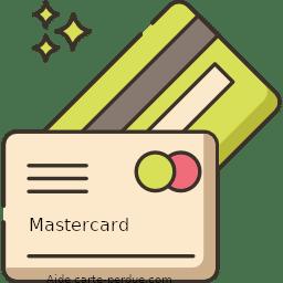 Carte Mastercard perdue ou volée