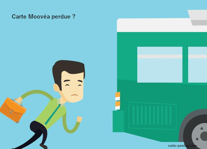 Carte Moovea Perdue, que dois-je faire ?