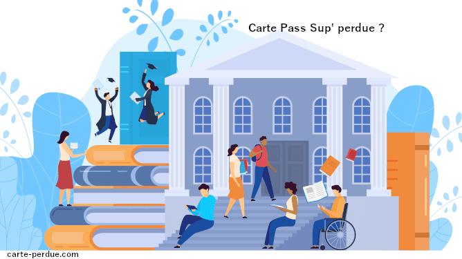 Carte Pass Sup Perdue, que faire ?