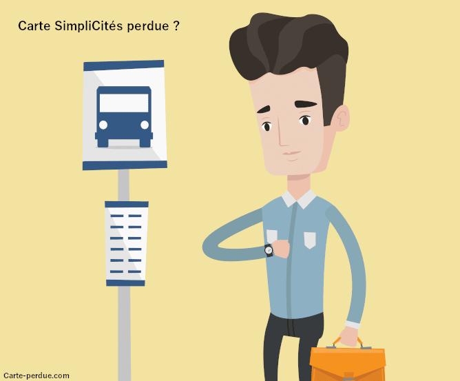 Carte Simplicites Perdue, que faire ?