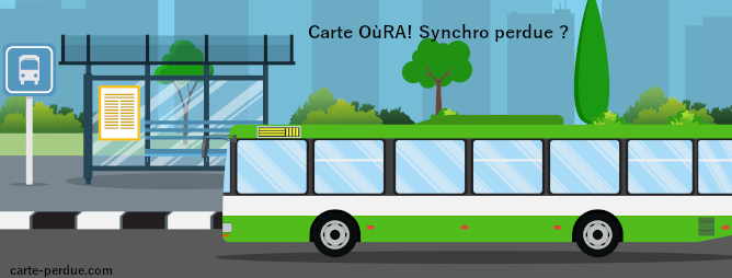 Carte  OùRA! Synchro Perdue