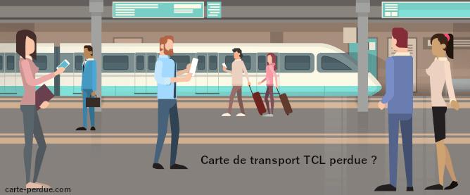 Carte Tcl Perdue à Lyon