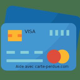 Carte Visa perdue ou volée