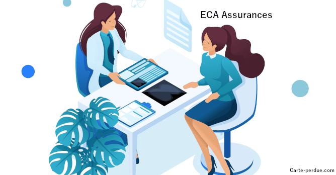 Eca Assurances Carte de mutuelle Perdue