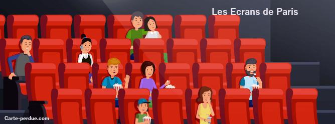 Ecrans De Paris Carte perdue, que faire ?