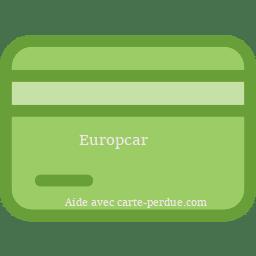 Europcar Carte Perdue