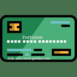 Fortuneo Carte perdue ou volée