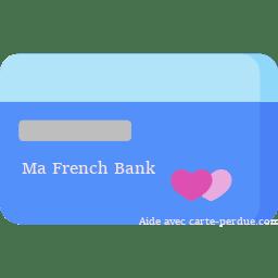 French Bank Carte perdue ou volée