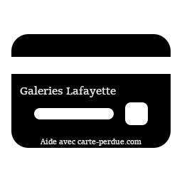 Galeries Lafayette Carte Perdue