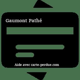 Gaumont Pathé Carte perdue