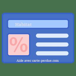 Habitat Carte Perdue