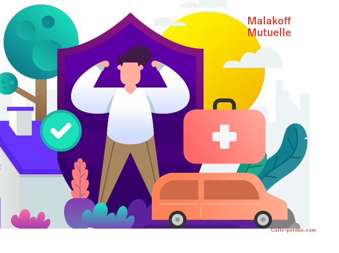 Malakoff Carte de mutuelle perdue