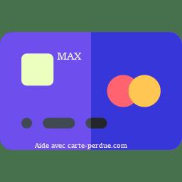 Max Carte perdue ou volée