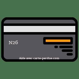 N26 Carte perdue ou volée