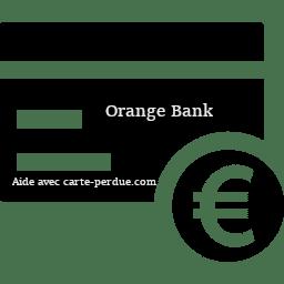Orange Bank Carte perdue ou volée