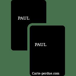Paul Carte Perdue