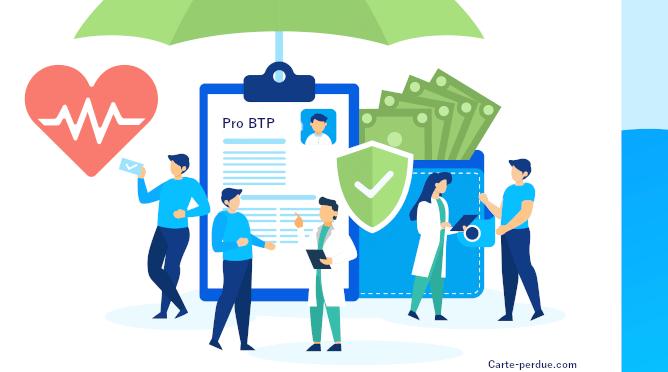 Pro Btp Carte de mutuelle perdue