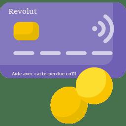 Revolut Carte perdue ou volée