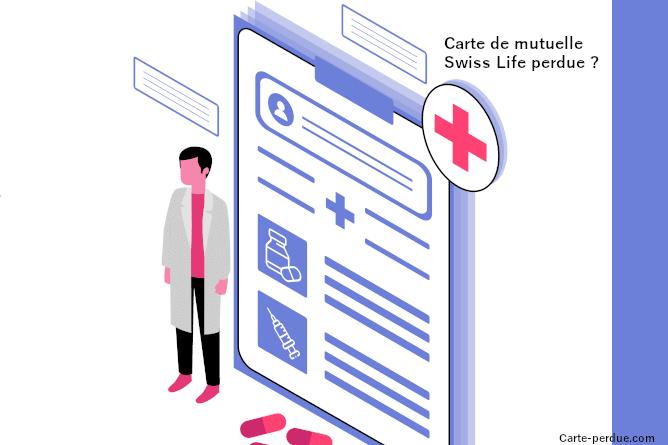 Swisslife Carte de mutuelle perdue