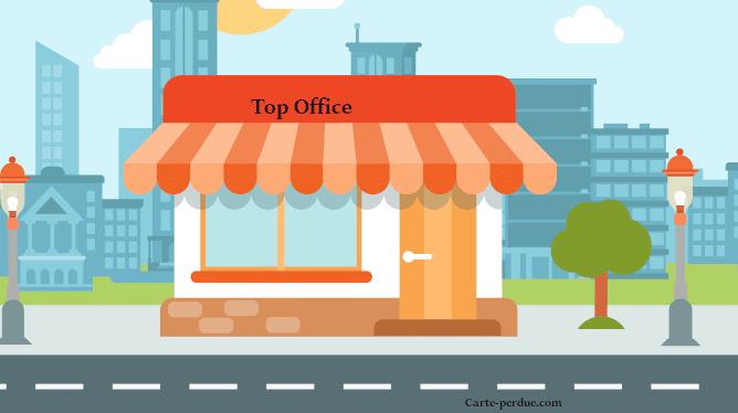 Top Office Carte de fidélité perdue, que faire ?